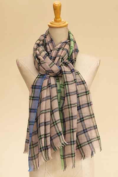 check shawl