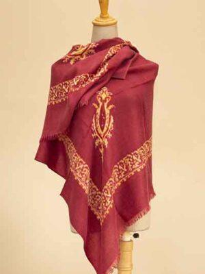 baby diamond print scarf