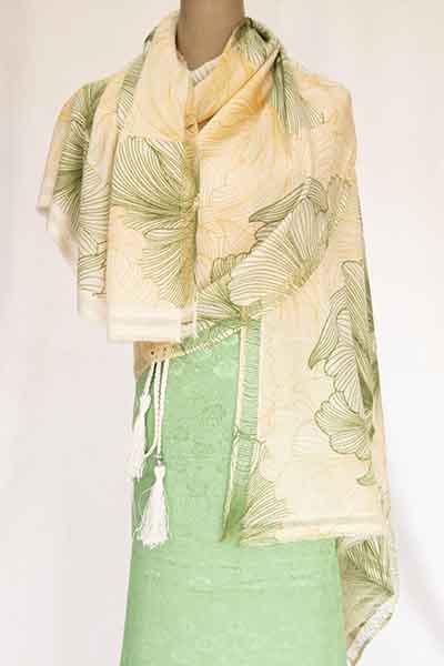 crepe weave print
